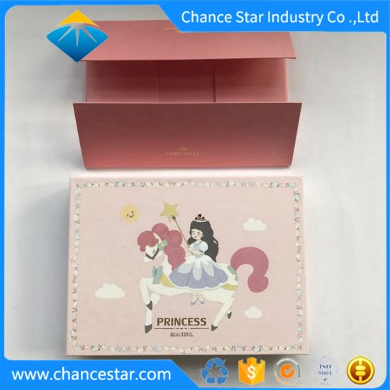 Custom Foldable Gift Packaging Paper Cardboard Box with Lid