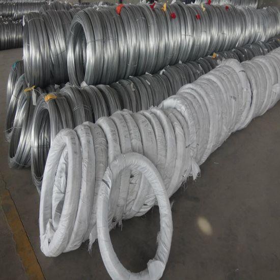 0.2-13.5mm Hot DIP Galvanzied Steel Binding Wire Rope