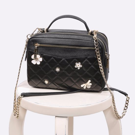 9c0eed7ad4 Guangzhou Factory 13 Years ODM OEM Custom 2018 New PU Leather Fashion  Designer Women Female Fashionable Tote Embroidery Ladies Handbag. Get  Latest Price