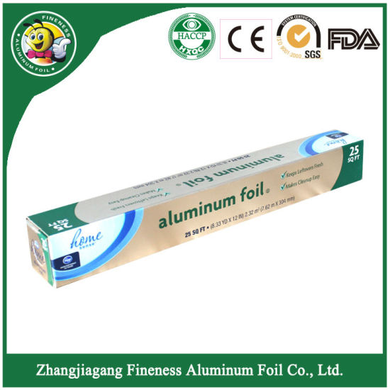 Household Aluminum Foil Wrapping Paper for Food Packaging pictures & photos