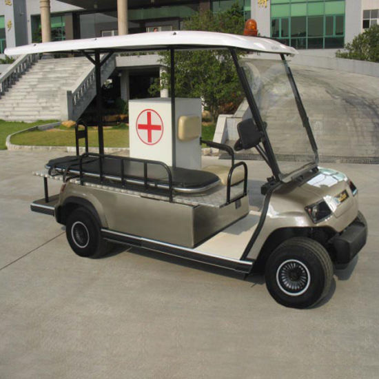 4 Seaters Electric Ambulance Car pictures & photos