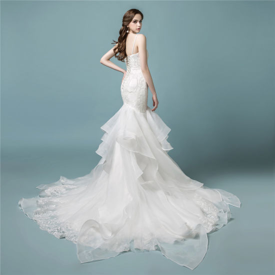 China Amelie Rocky 2018 Lace Bridal Wedding Dress Mermaid - China ...