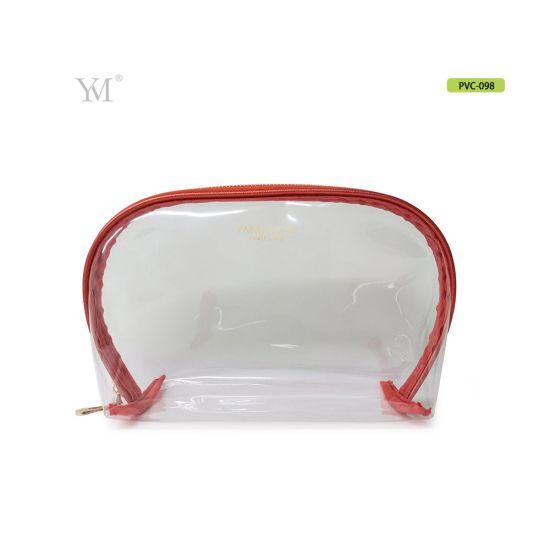 bb4665d43d63 2018 Hot Sell Nylon Zipper PVC Cosmetic Travel Bag Makeup Bag pictures &  photos