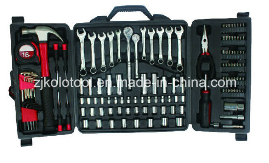 "142PCS 1/4"" 3/8"" Dr Sockets Universal Wrench with Plier, Hand Tool Set pictures & photos"