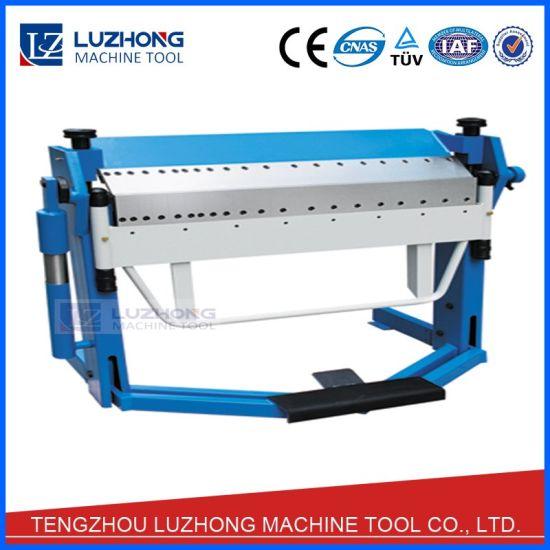 China Sheet Metal Manual Folding Machine Manual Folder