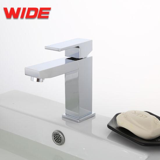 China Bathroom Use Square Design Sanitary Vessel Faucet Upc Hot ...