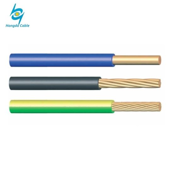 China 600V Copper Type 8 AWG PVC Insulated Copper Tw Thw Electric ...