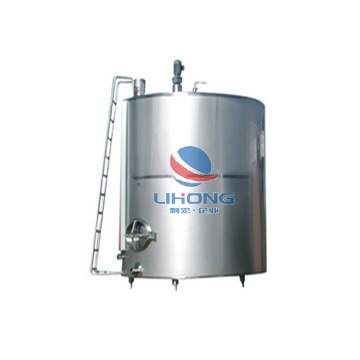 Stainless Steel Sanitary Steam Electric Heating and Cooling Double Jacketed Aging Fermentation Reactor Mixing Balance Buffer Fermenter Fermentor Storage Tank