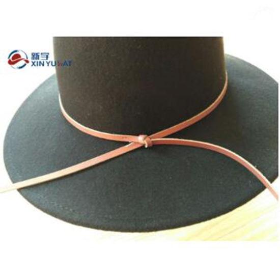 8cc9f4446a9c2 China Wholesale Wide Brim Black Wool Felt Fedora Hats for Women ...
