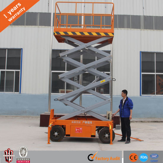 Hot Sale Hydraulic Mobile Electric Scissor Lift pictures & photos