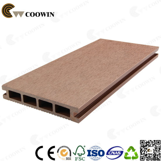 China Manufacturer Wood Plastic and Composite Decking (TS-01) pictures & photos