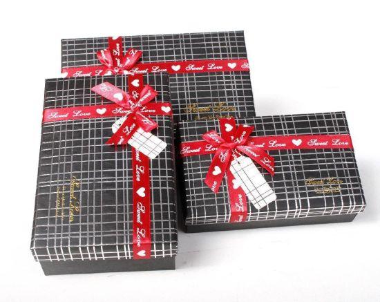 Paper Elegant Gift Box with Ribbon
