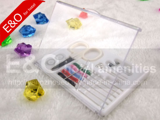 Hotel Disposable New Plastic Box Sewing Kit Sewing Accessories