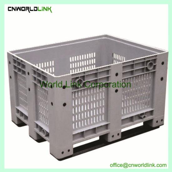Heavy Duty Rolling Stack Plastic Pallet Wheelie Crate