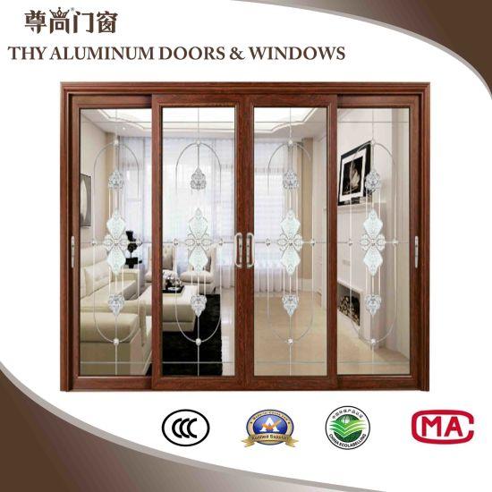 China Aluminum Interior Doors Exterior Doors With Thermal Brake