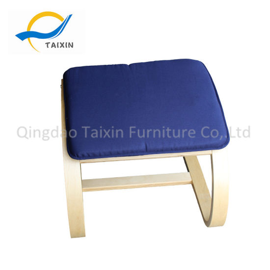 China Living Room Furniture Wooden Footrest For Chair