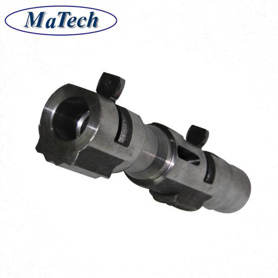 China Steel Casting Foundry Custom Quality Long Hollow Spline Shaft