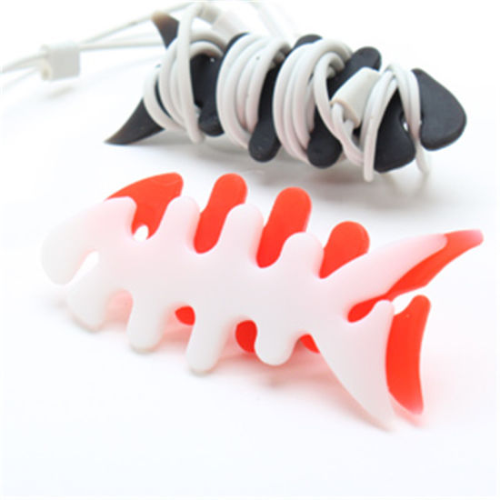 OEM & ODM Silicone Winder for Earphone