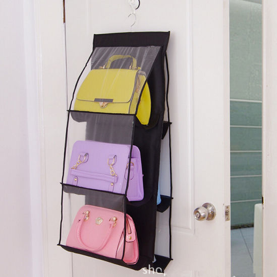 High Quality PVC and No-Woven Hanging Foldable Bags Organizer pictures & photos