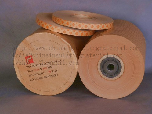 Electrical Insulation Diamond Dotted Paper for Transformer Insulation Material pictures & photos