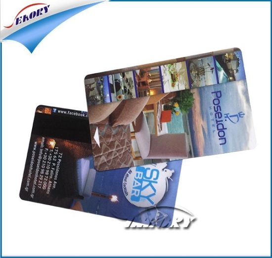 Factory Price Cr80 or Customized Printing Plastic Employee ID Card pictures & photos