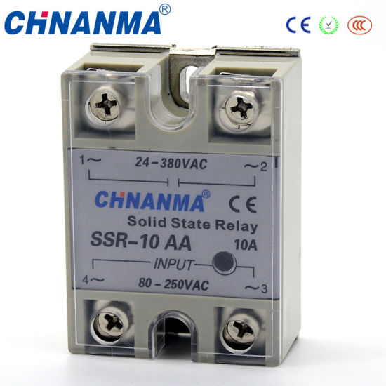 DC to AC Single Phase SSR Solid State Relay Contactor (SSR-DA)