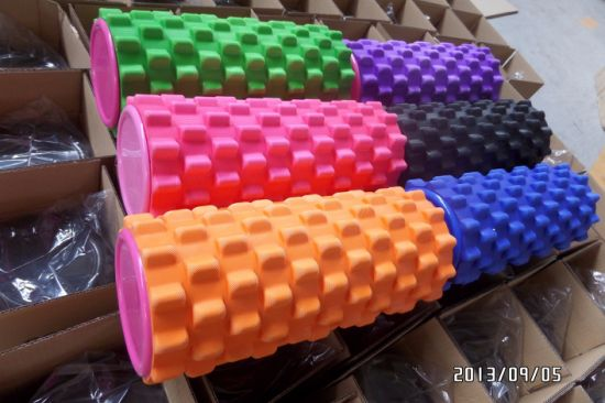 Yoga Pilates Foam Roller High Density ABS Hollow Yoga Roller pictures & photos