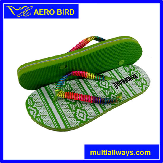 Hot Style Lady PE Flip Flop Slipper Shoe for Women pictures & photos