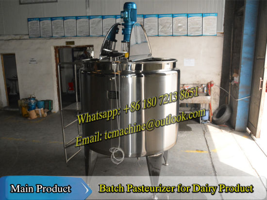 200L Batch Pasteurizer for Milk pictures & photos