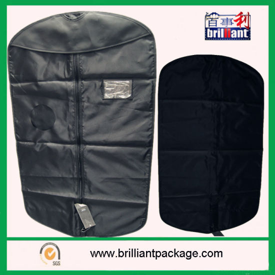 Non Woven Suit Cover with Zipper Tote Bag pictures & photos