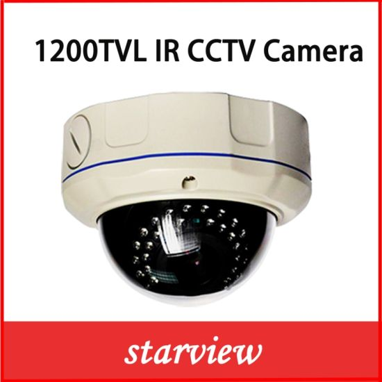 1200tvl IR Vandalproof IR CCTV Dome Security Camera (D14) pictures & photos