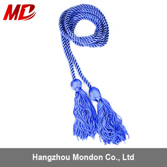 Royal Blue 100% Rayon Twisted Single Graduation Honor Cord pictures & photos