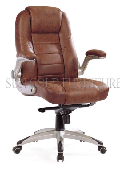 Modern Rotary Brown Office Executive Director Chair (SZ-OCA1004H) pictures & photos