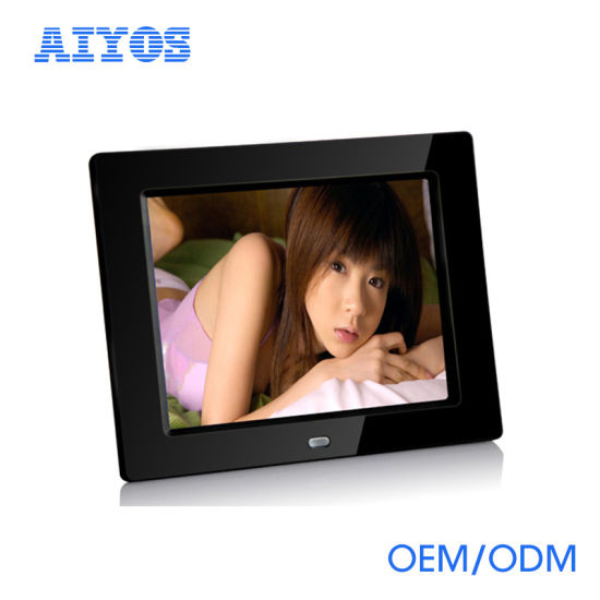 China 8 Inch Digital Photo Frame Tabletop Media Player with Motion ...