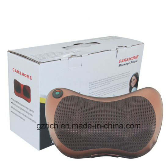 Hot Item Back Massage Cushion with Heat Kneading Massage Pillow pictures & photos