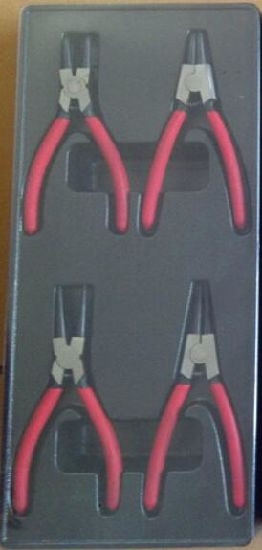 4PCS Professional Circlip Plier Tool Set in Blister Tray (FY435A-13) pictures & photos