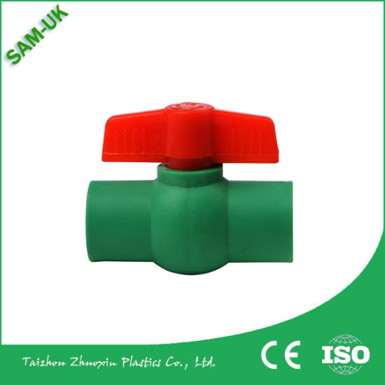 Sam-UK 20, 40, 25, 50, 32, 63mm Cheap Plastic PPR Ball Valve for Hot and Cold Water