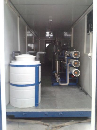 China Reverse Osmosis System Water Purifier Plant Salt Water