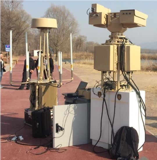 Drone Signal Jammer Used for Counter Protection Uavs Drones Jamming Drone Signals/Anti Uav Defense System