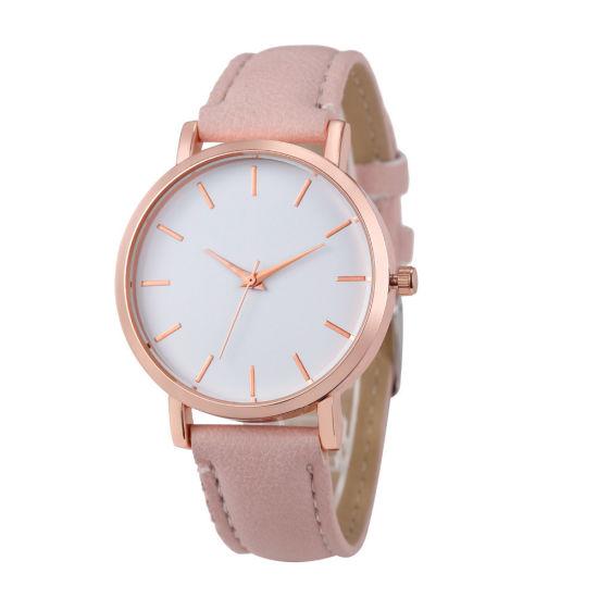 955ee04f8 New Watch Women Checkers Faux Lady Dress Watch, Women′s Casual Leather  Quartz-Watch Analog Wristwatch Gifts Relogios Feminino