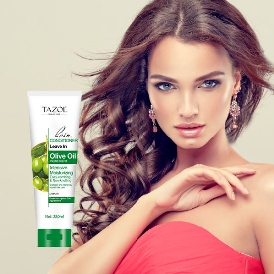 Tazol Cosmetic Olive Oil Non-Knotting Leave in Hair Conditioner Beauty Care