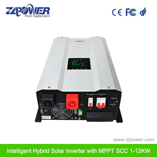 Hot Selling Promotional Price 4kw~10kw with Built-in MPPT Solar Charge Controller Hybrid Solar Power Inverter Inverex UPS pictures & photos