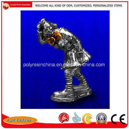 High Quality Pewter Figurines of Zinc Alloy Statue