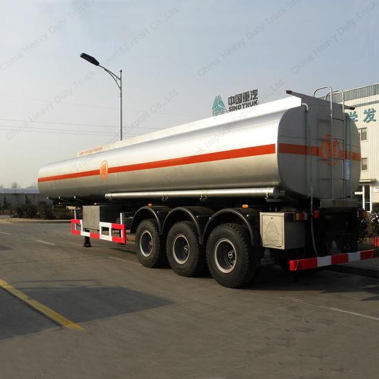 Sinotruck HOWO 50000 Liters Oil Fuel Tanker Transportation Tank Semi Trailer
