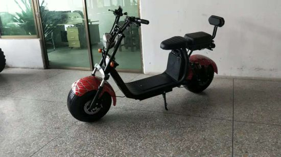 2000W Factory Harley Citycoco Scooter Removable Battery Promotion Product Electric Scooter ESC005-D for Rent Business pictures & photos