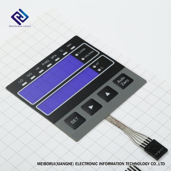[Hot Item] LED Embedded Membrane Keypad Switch Keyboard Manufacture with  Backlight Push Button