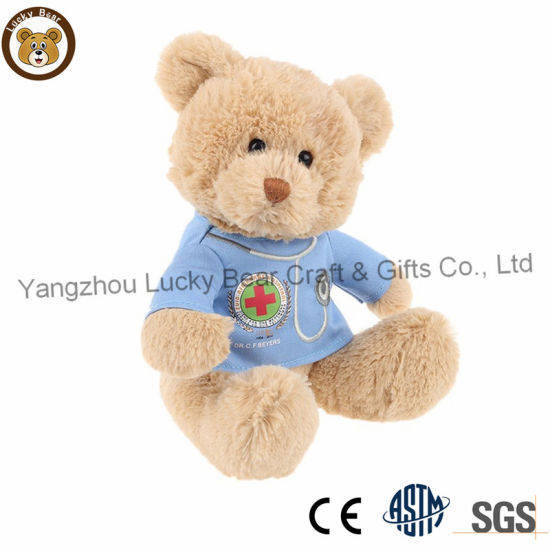 Super Soft Plush Doctor Teddy Bear with Clothes