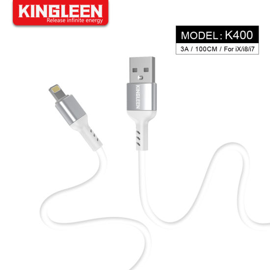USB iPhone Sync Fast Charging Data Transfer Lightning Cable