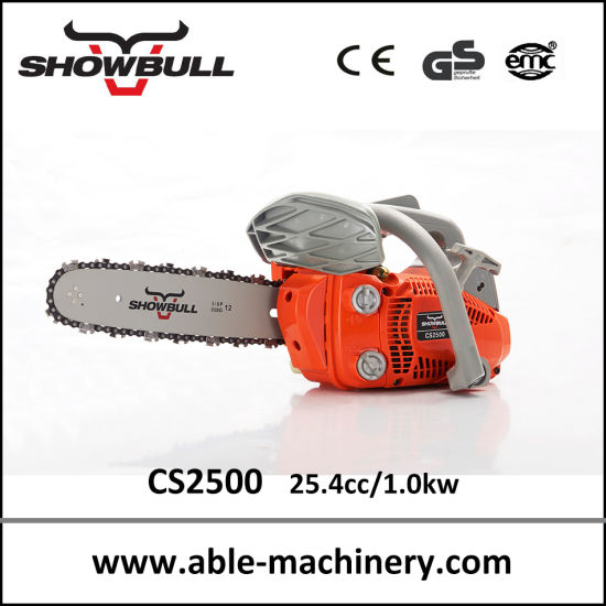 Hot Sell 25cc Carving Chain Saw Professional Mini Gasoline Chainsaw with Ce pictures & photos
