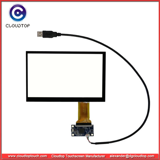 """7"""" Widescreen Pcap for 16: 9 TFT LCD Panel"""